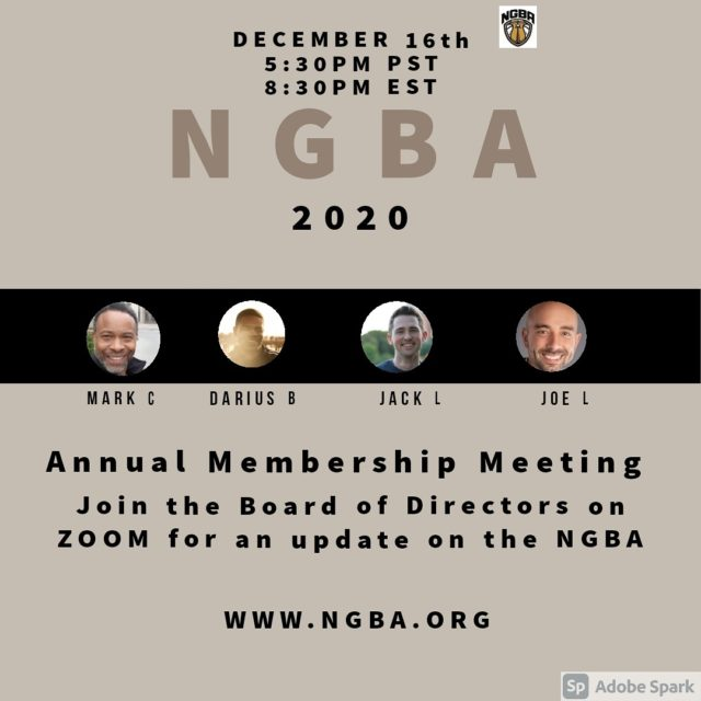Annual Membership Meeting on Zoom